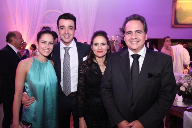 Marilia Queiroz, Expedito Machado, Manoela e Ricardo Bacelar