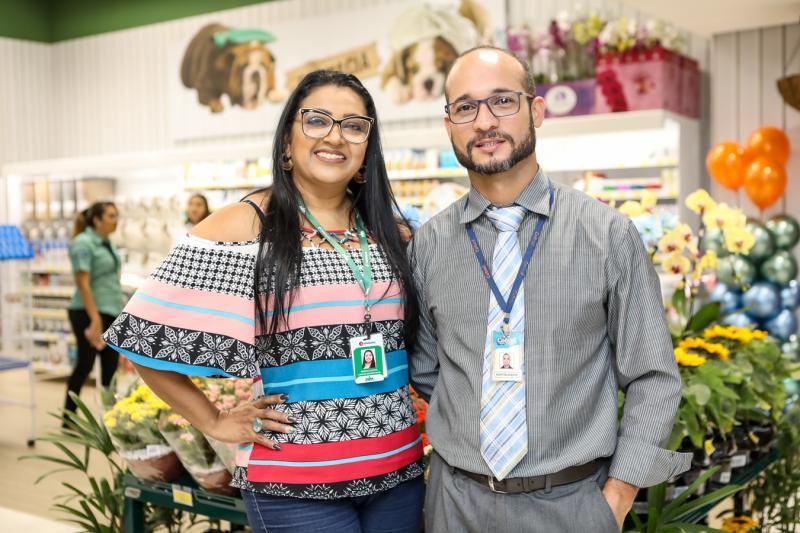 Marcia Santos e Ronytelfisson Santos