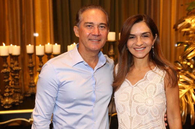 Luis Claudio e Cristina Brasil