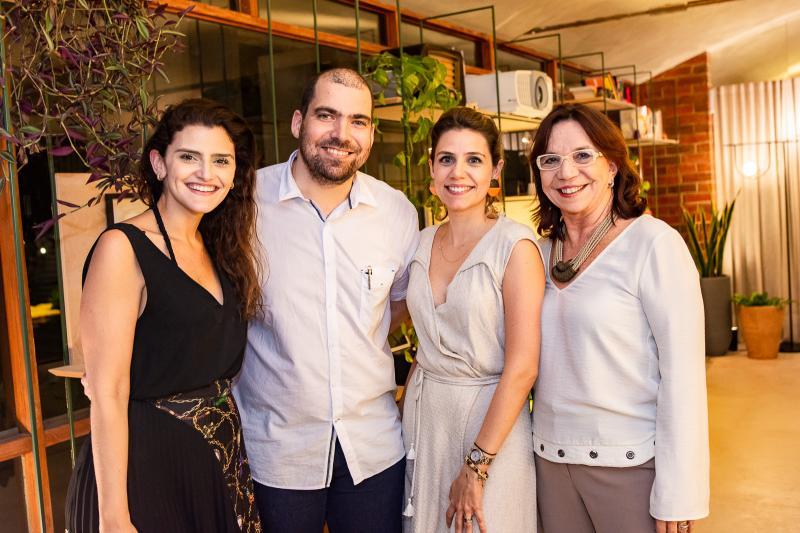 Isabele Studart, Abelardo Sampaio, Priscila Antonucci e Lucia Wolf