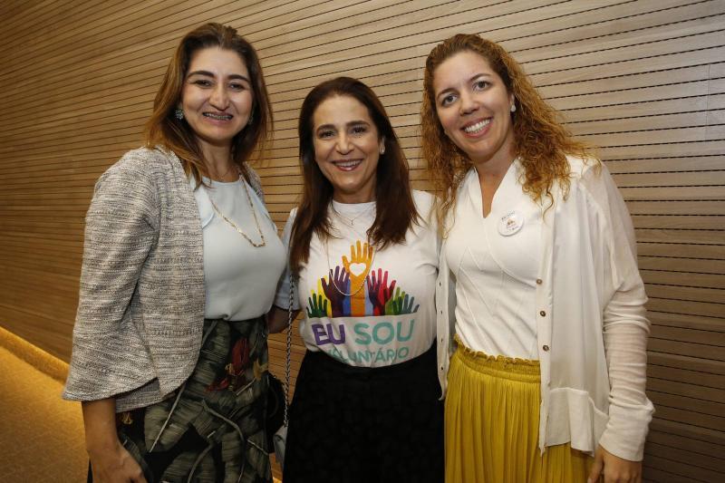 Dalila Saldanha, Patricia Macedo e Ticiana Queiroz