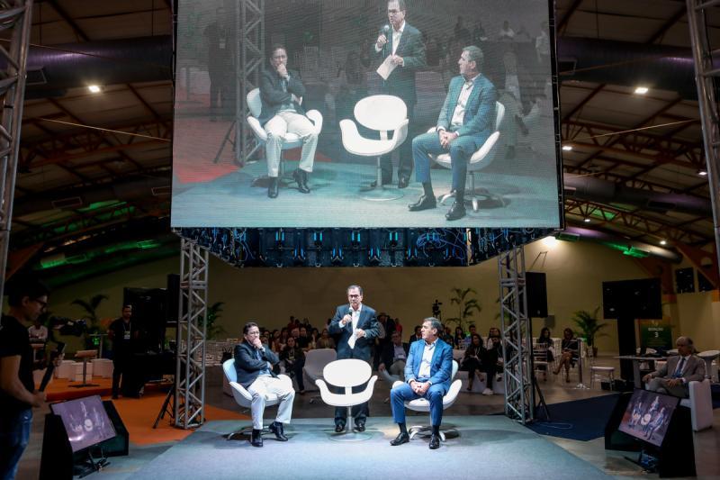 Alci Porto, Beto Studart e Luis Gastao Bitencourt