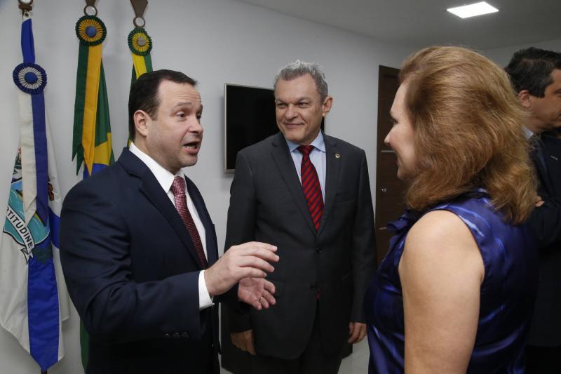 Igor Barroso, Jose Sarto e Renata Jereissati