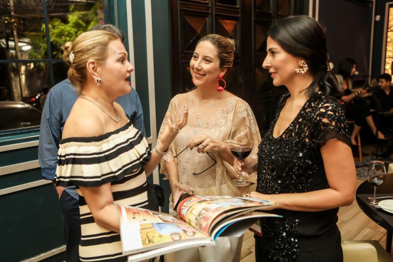 Lenise Rocha, Carol Quintero e Alice Ferraz