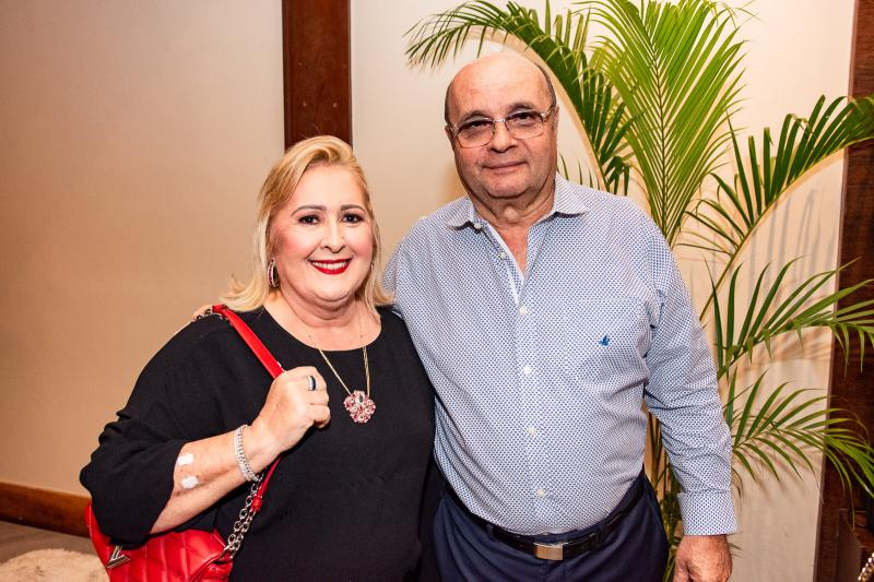 Tereza Gurgel e Fernando Cirino