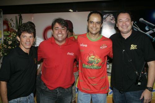 Carvalhinho, Jose Walter Manarino, Luiz Lotito e Pedro Neto
