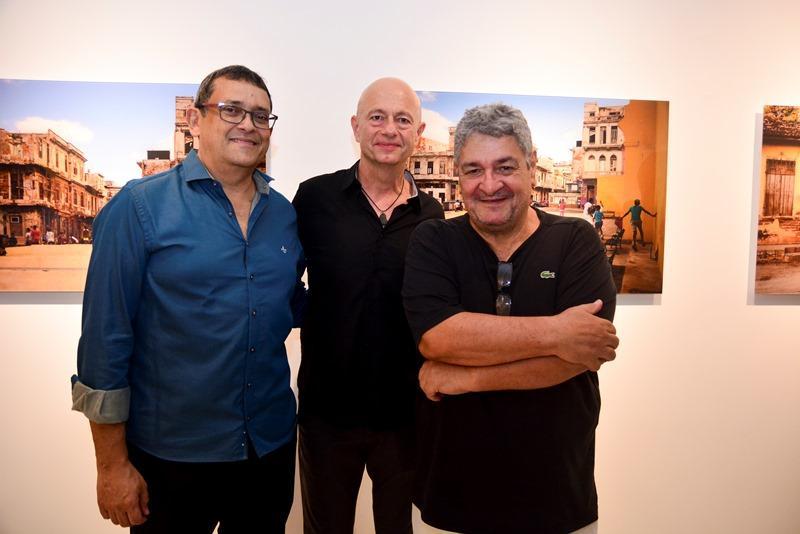 Jose Guedes, Demetrio Jereissati e Celso Oliveira