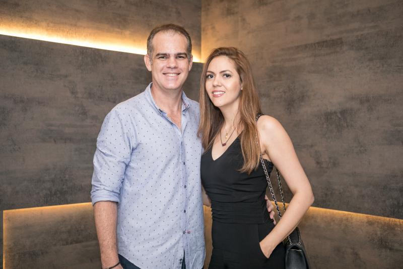 Celio Gurgel e Flavia Torquato