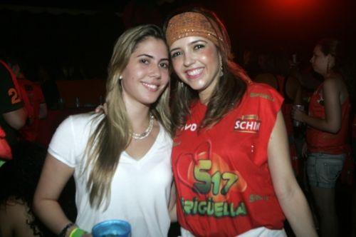 Bia Rolim e Sarinha Diniz