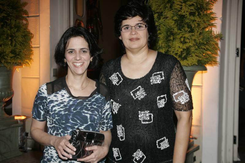 Simone Moura e Cordelia Queiroz