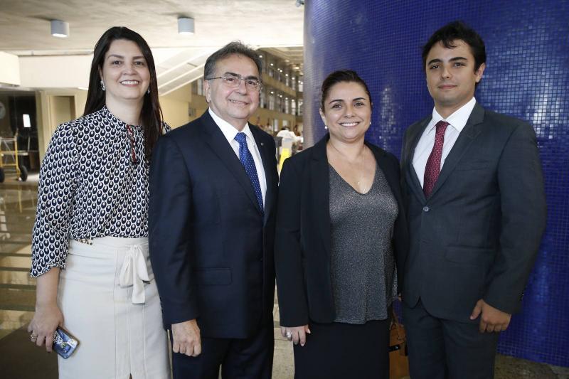 Natania Barbosa, Leonidas Cristino, Adriana Gomes e Joao Marcelo