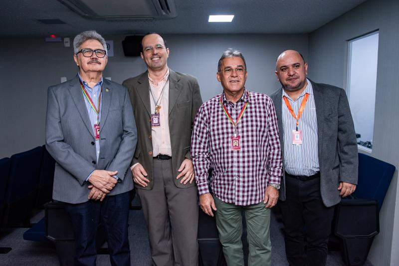 Aires Pinheiro, Roberto Rocha, Edvaldo Torres e Cleilson Laurentino
