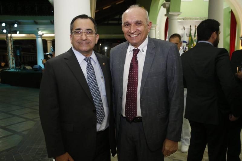 Jardson Cruz e Licinio Correa
