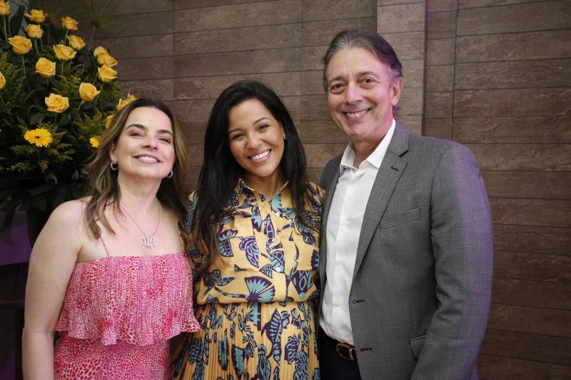 Daniele Barreira, Priscila Costa e Afranio Barreira