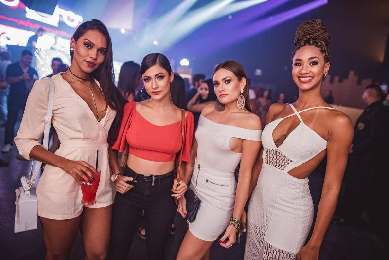 Carol Lima, Poliana Mila, Camilla Branco e Aline Patriaca