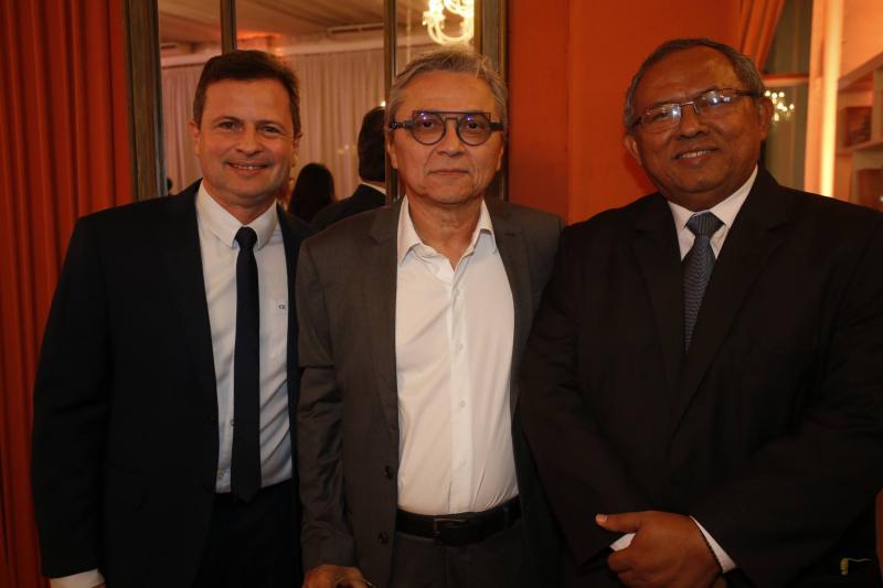 Marcos Andre Borges, Fernando Costa e Gilvan Paiva