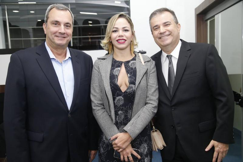 Kalil Otoch, Nathalia Bernardo e Ricardo Bezerra