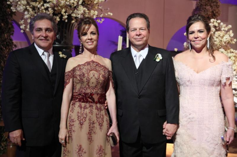 Luiz e Zarizia Pontes, Francisco e Ailza Ventura