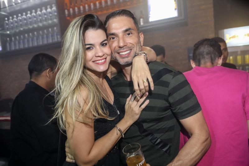Mimi Braz e Luis Montenegro