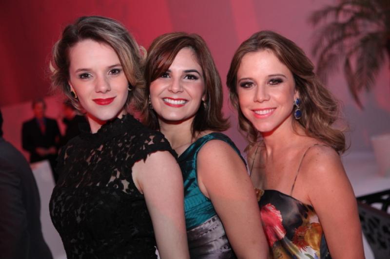 Paula Sampaio, Luciana Sena e Mirela Rocha