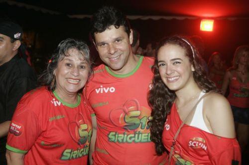 Angela Moraes Correia, Sacha Juca e Ines Burlamaque