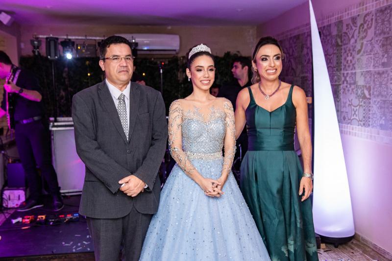 Paulo Henrique, Melina e Mabel Portela