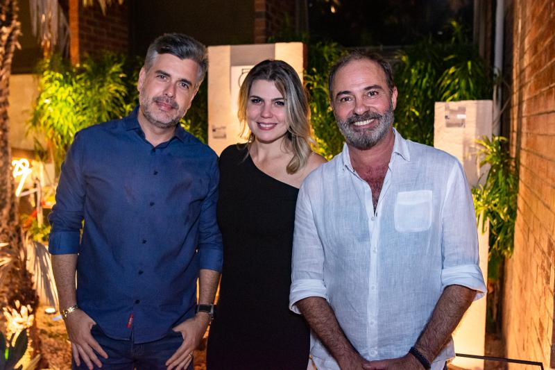 Alexandre Pereira, Liliana Meira e Marcus Novais