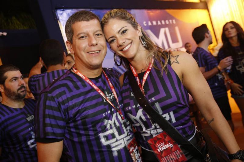 Marcelo Lopes e Carolina Gato