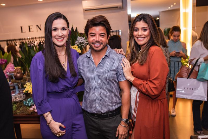Giuliana Botelho, Rafael Gualberto e Monica Pinto