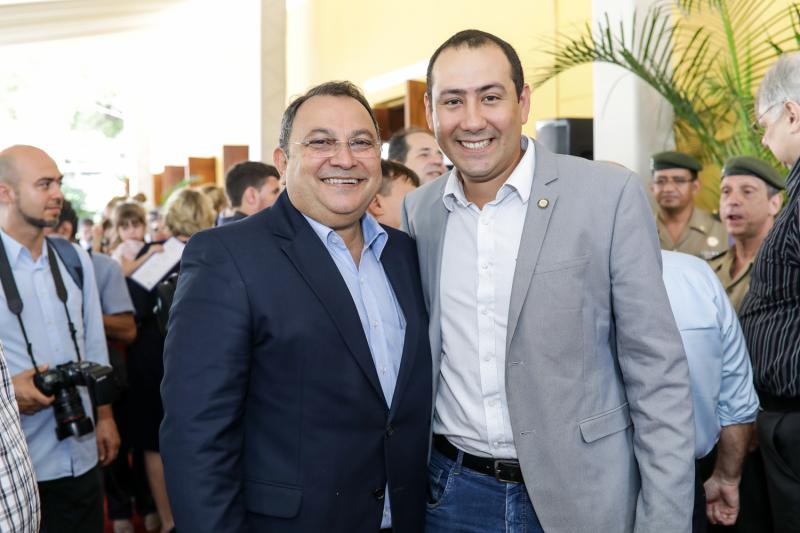 Moacir Maia e Renan Colares