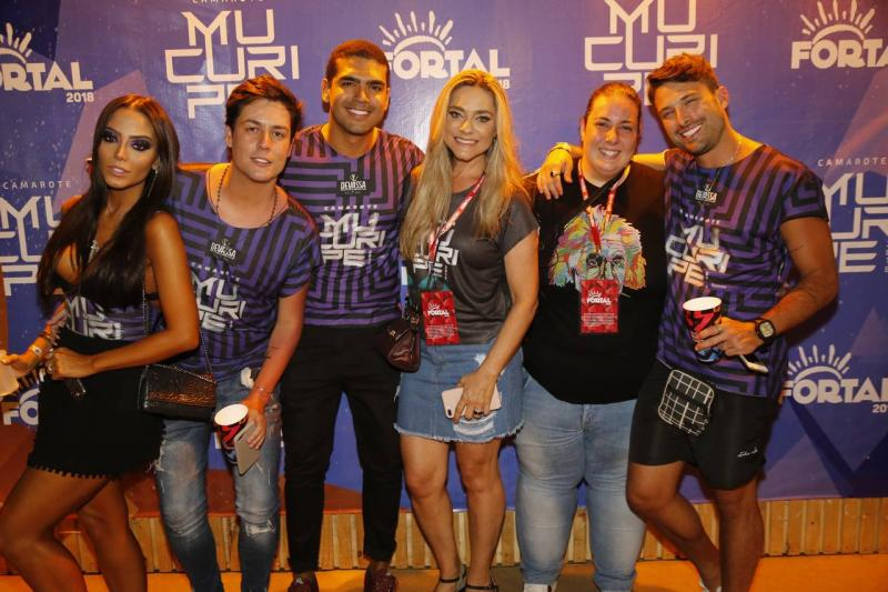 Te Sena, Lucas Pio, Marcos Maciel, Celia Magalhaes, Clara Franck e Thiago maciel