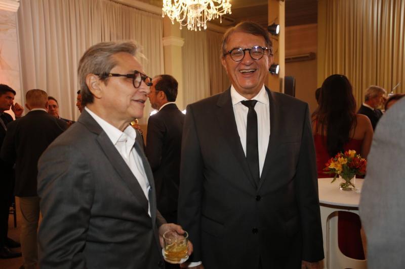 Fernando Costa e Arialdo Pinho