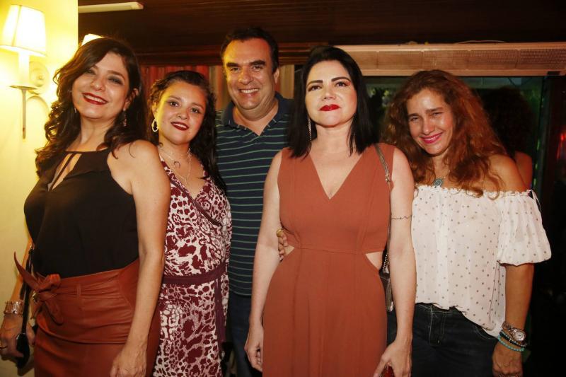 Samira Suleiman, Danielli Diniz, Claudio Ary, Marta Studart e Wladia Maislova