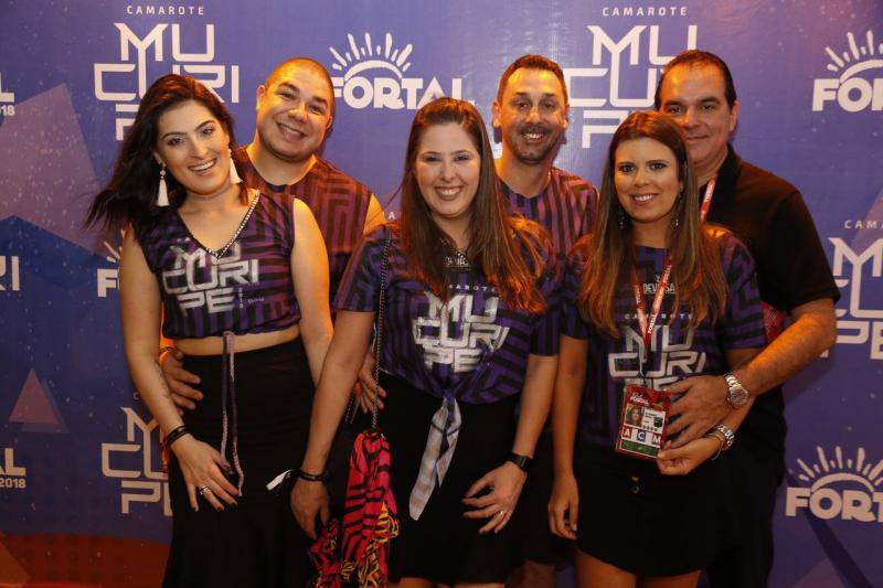 Lais Ledah, Bruno Ribeiro, Mariana e Marcio Castro, marina e Leo Albuquerque