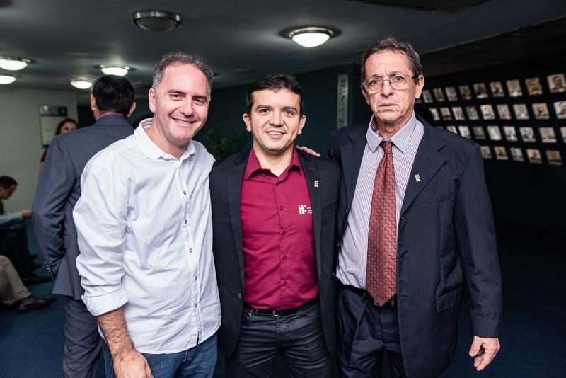 Guilherme Lacerda, Clodoaudo Junior e Fernando Melo