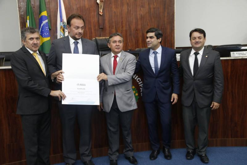 Antonio Henrique, Adriano Nogueira, Dr Porto, Queiroz Filho e Benigno Junior