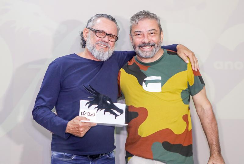 Lucio Albuquerque e Claudio Silveira