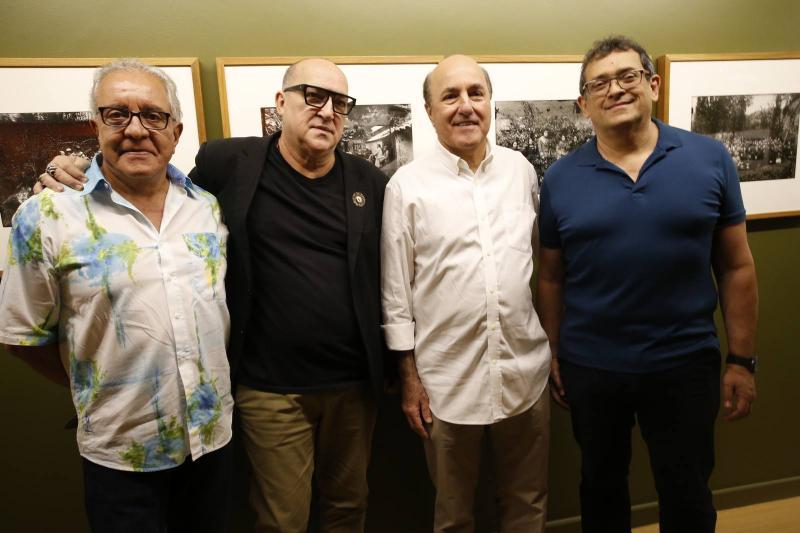 Ronald Assumpcao, Diogenes Moura, Silvio Frota e Jose Guedes