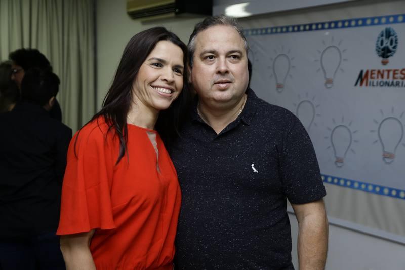 Carol Porto e Angelo Rocalle