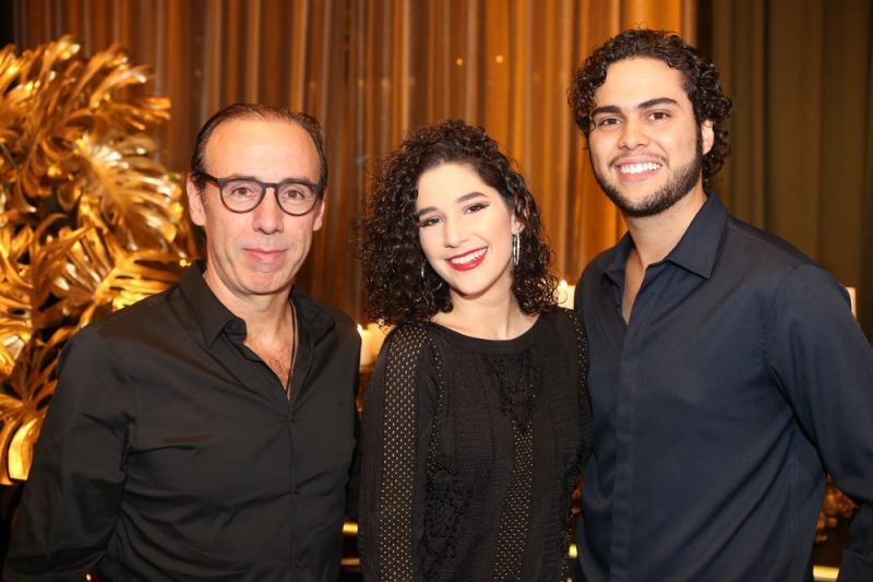 Jorge Soares, Maria Luisa Miranda e Nicolas Soares
