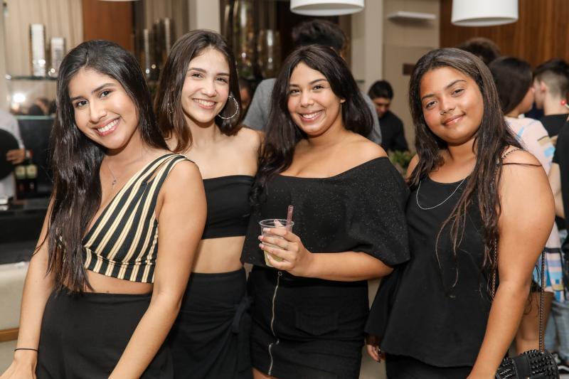 Yasmin Nunes, Ana Leticia, Leticia Fernandes e Vivian Juca