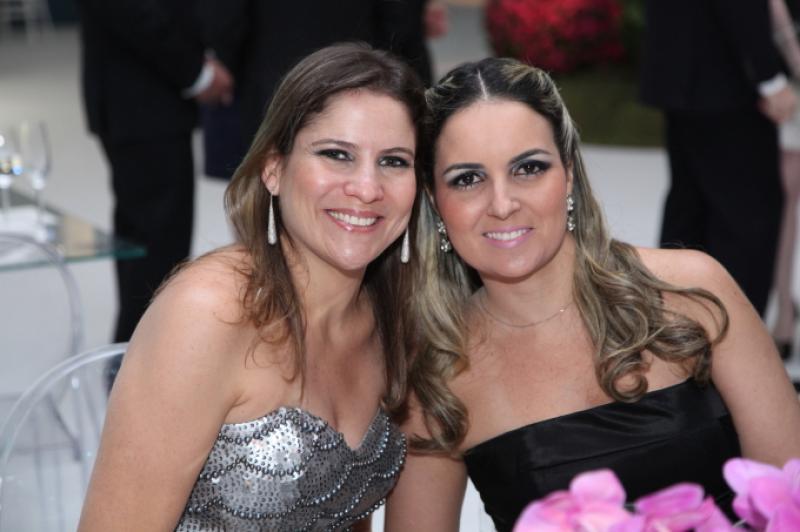 Luciana Borges e Raquel Vasconcelos