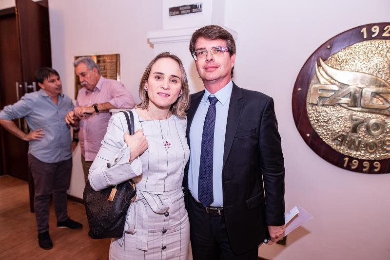 Fernanda Pacobahiba e Michel Gradvohl