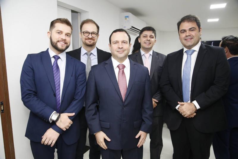 Victor Pedroza, Daniel Aderaldo, Igor Barroso, Daniel Rios e Marco Aurelio