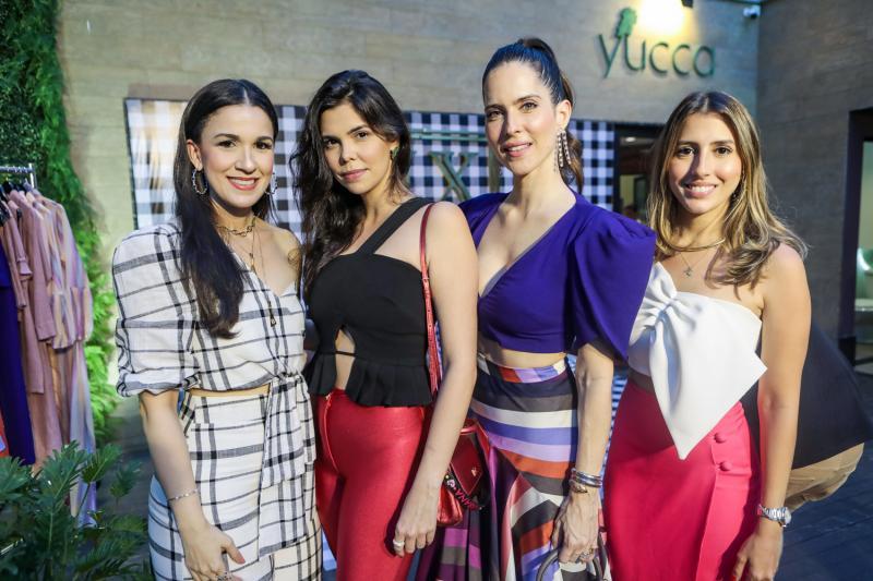 Giuliana Botelho, Milena Munhoz, Marcela Porto e Tayra Romcy
