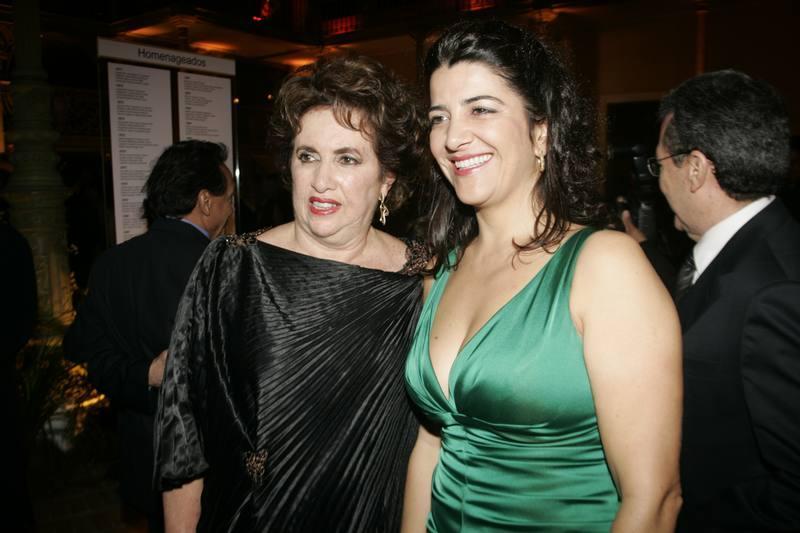 Leda Maria e Claudia Carneiro