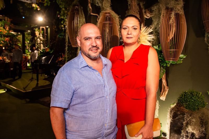 Rafael Sudatti e Ticiana Patricio
