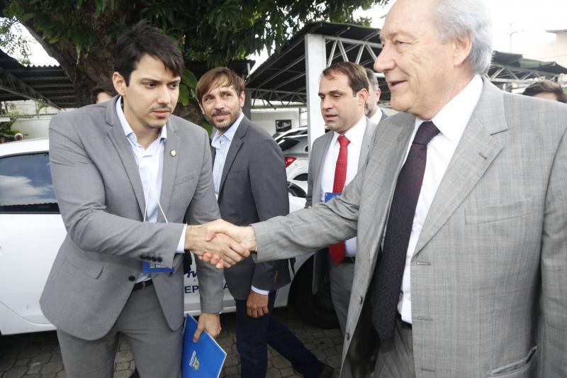 Paulo Martins, Guilherme Sampaio, Samito Filho e Ricardo Lewandowiski