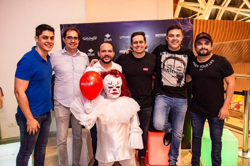 Caio Machado, Pedro de Castro, Daniel Meireles, Guilherme Nobrega, Gustavo Cruz e Wagner Junior