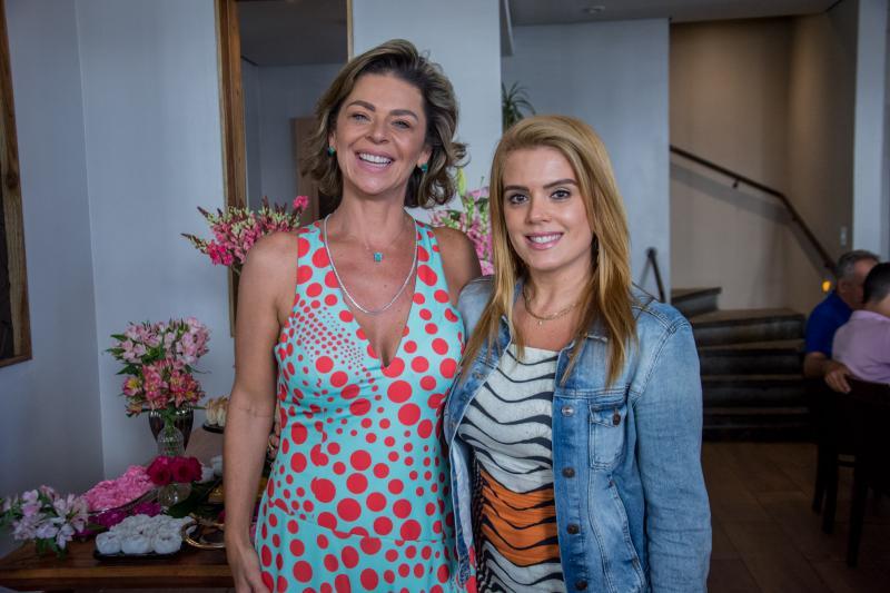 Ana Cristina Wolf e Leticia Studart